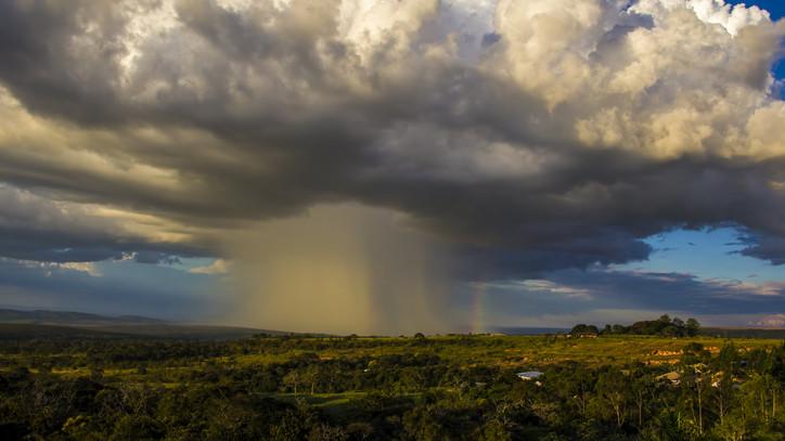 Elképesztő égi jelenség Hajdú-Bihar felett: lecsapott a vihar, jeget is hozott magával